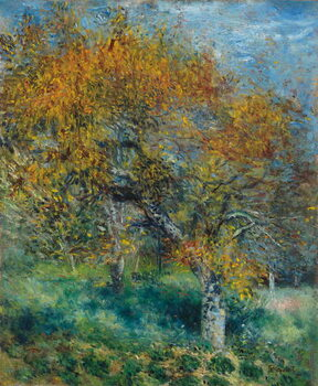 Canvas Print The Pear Tree; Le Poirier, c.1870