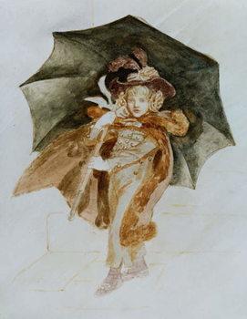 The Rainstorm Canvas Print