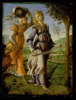 The Return of Judith, 1467 Canvas Print