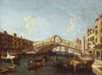 The Rialto in Venice Canvas Print