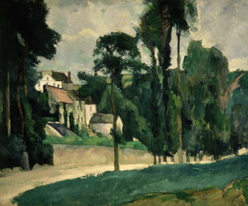 The Road at Pontoise, 1875 Canvas Print