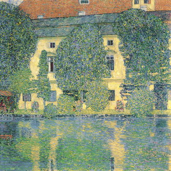 The Schlosskammer on the Attersee III, 1910 Canvas Print