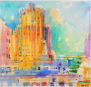 The Shell Building, San Francisco Canvas Print