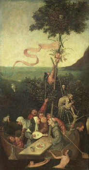 The Ship of Fools, c.1500 Canvas Print