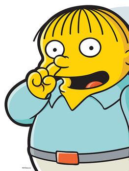 Canvas Print The Simpsons - Ralph Pick