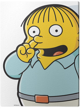 Canvas Print The Simpsons - Ralph Pick