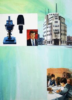 The Story of Radio Canvas Print