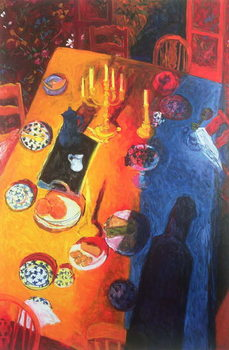 The Supper, 1996 Canvas Print