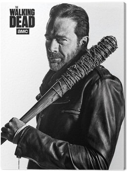 Canvas Print The Walking Dead - Negan