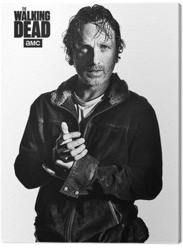 The Walking Dead - Rick Canvas Print