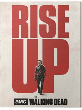 Canvas Print The Walking Dead - Rise Up
