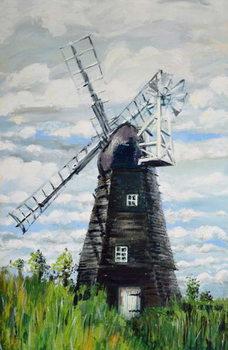 The Windmill,2000, Canvas Print