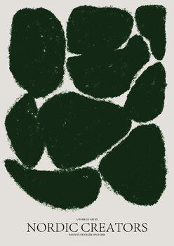 Canvas Print Things fall apart - Green