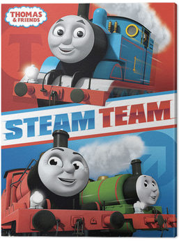 Thomas & Friends - Steam Team Canvas Print
