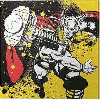 Canvas Print Thor - Splatter
