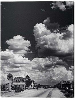 Canvas Print Time Life - Route 66, Arizona