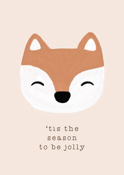 Canvas Print Tis The Season To Be Jolly