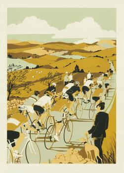 Tour de Yorkshire Canvas Print