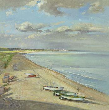 Towards Southwold Canvas Print