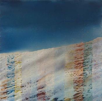 Trace, 2009, Canvas Print