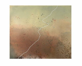 Trail, 2007, Canvas Print