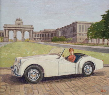 Triumph in Brussels Canvas Print