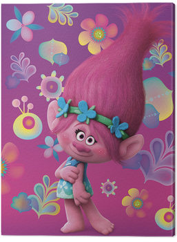 Canvas Print Trolls - Poppy