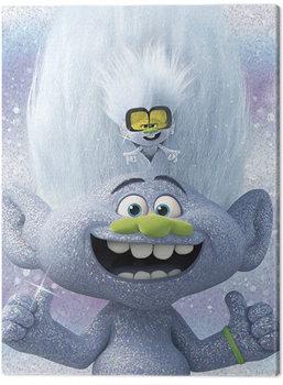 Trolls World Tour - Guy Diamond and Tiny Canvas Print