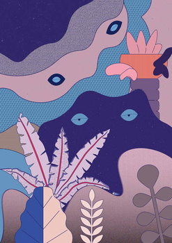 unconscious Mind, 2018, Canvas Print