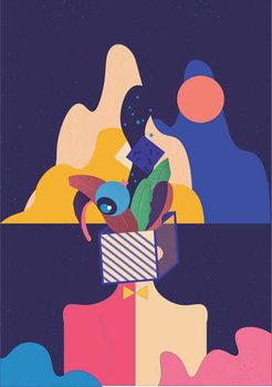 Unleash your Creativity, 2018, Canvas Print