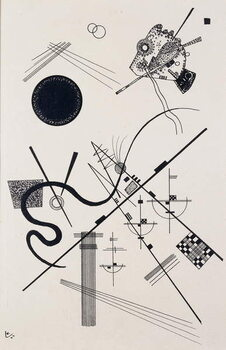 Canvas Print Untitled (Drawing 4); Untitled (Dessin 4), 1924