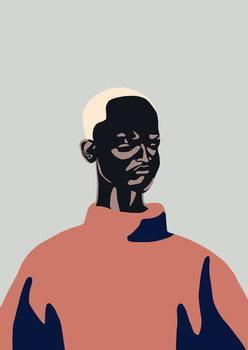 Untitled Portrait, 2016, Canvas Print