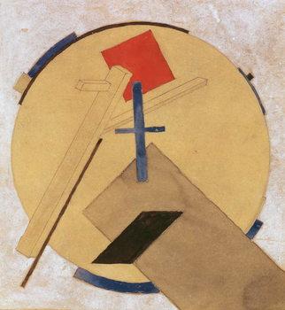 Untitled Proun Study, c.1919-20 Canvas Print
