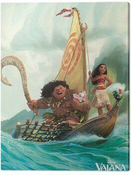 Canvas Print Vaiana - Boat