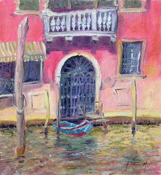 Venetian Balcony, 2000 Canvas Print