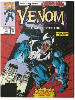 Canvas Print Venom - Lethal Protector Comic Cover