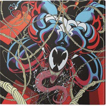 Canvas Print Venom - Symbiote free fall