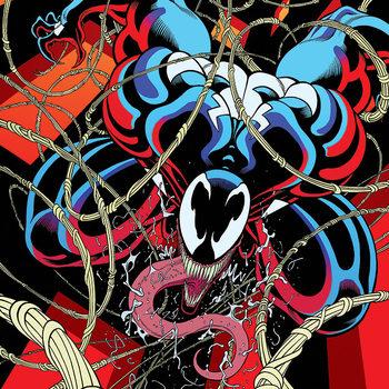 Venom - Symbiote free fall Canvas Print