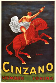 Vermouth Cinzano Canvas Print