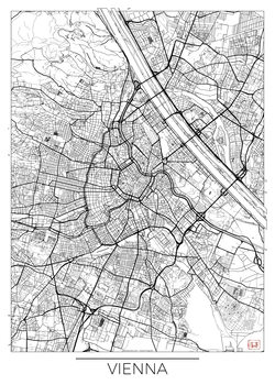 Canvas Print Vienna