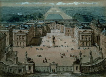View of Versailles Canvas Print