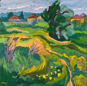 Village End, 2006 Canvas Print
