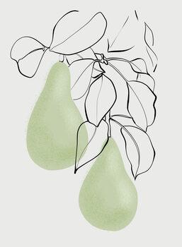 Canvas Print Wen pears