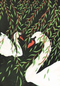 Willows, 2011, Canvas Print