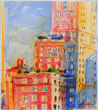 Windows in the Upper East Side Canvas Print