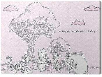 Canvas Print Winnie The Pooh - Togetherish