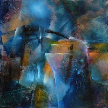 Canvas Print Winter night
