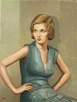 Woman of Mayfair Canvas Print