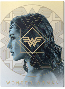 Canvas Print Wonder Woman 1984 - Amazonian Pride