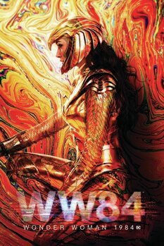 Canvas Print Wonder Woman - 1984